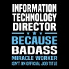 Information Technology Director - Men's T-Shirt