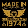 made in 1974 33.png - Men's T-Shirt