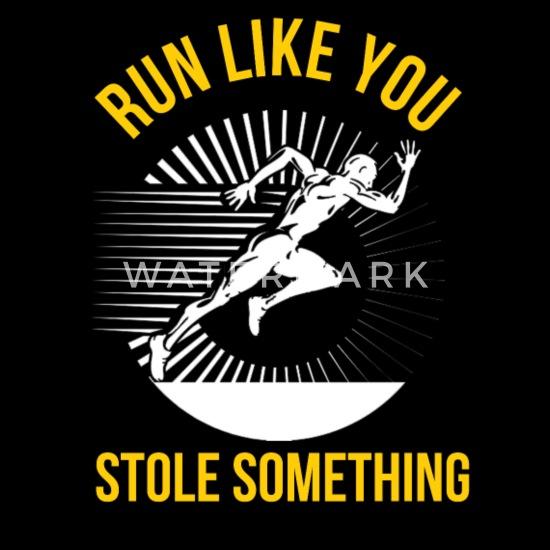 a basso prezzo Prezzo di fabbrica 2019 qualità autentica Running - Run Like You Stole Something Men's T-Shirt - black
