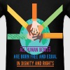 Human Rights - All human beings are born free and  - Men's T-Shirt