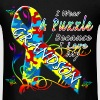 Autism Awareness Puzzle For My Grandson - Men's T-Shirt