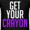 Get Your Crayon Purple (White) - Men's T-Shirt