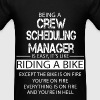 Crew Scheduling Manager - Men's T-Shirt