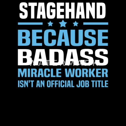 stagehand by bushking spreadshirt