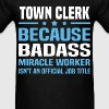 Town Clerk - Men's T-Shirt