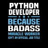 Python Developer - Men's T-Shirt