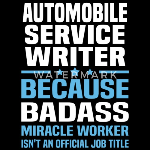 what does a service writer do