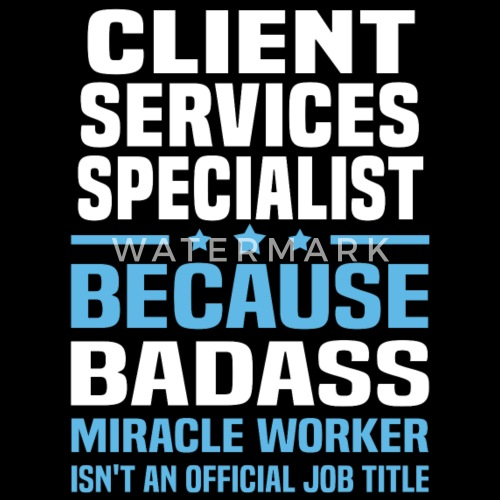 Client Services Specialist By Bushking Spreadshirt