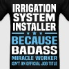 Irrigation System Installer - Men's T-Shirt