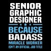 Senior Graphic Designer - Men's T-Shirt