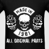 Made in 1981 All original parts - Men's T-Shirt