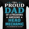 Head Mechanic - Men's T-Shirt