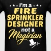 Fire Sprinkler Designer - Men's T-Shirt