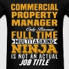 Commercial Property Manager - Men's T-Shirt