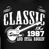 Classic Since 1987 And Still Rockin' - Men's T-Shirt