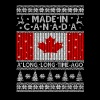 Ugly Christmas sweater for Canadian - Men's T-Shirt