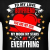 To My Love Boyfriend You are My Sun My Moon My Sta - Men's T-Shirt