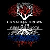 Canadian Grown With Russian Roots - Men's T-Shirt
