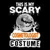 This is my Scary Cosmetologist Costume - Men's T-Shirt