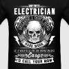 Electrician - I don't mind hard work - Men's T-Shirt