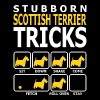 Stubborn Scottish Terrier Dog Tricks - Men's T-Shirt