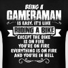 Being A Cameraman... - Men's T-Shirt