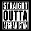 Straight Outta Afghanistan - Men's T-Shirt