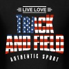Live Love Track and Field USA - Men's T-Shirt