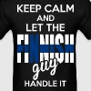 Keep Calm And Let The Finnish Guy Handle It - Men's T-Shirt