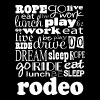 Rodeo Roping Riding Sports - Men's T-Shirt