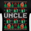 Uncle Ugly Christmas Sweater - Men's T-Shirt