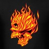 Fire Skull - Men's T-Shirt