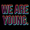 We Are Young Design - Men's T-Shirt