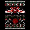 Firefighter Ugly Christmas Sweater - Men's T-Shirt