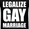 Legalize Gay Marriage LGBT Design - Men's T-Shirt