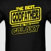 The Best Godfather In The Galaxy - Men's T-Shirt