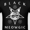 Black Meowgic - Men's T-Shirt