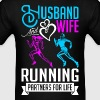 Husband And Wife Running Partners For Life - Men's T-Shirt