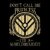 Shieldmaiden - Don't call me princess t-shirt - Men's T-Shirt