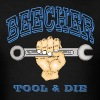 beecher-tool-and-die-Blue - Men's T-Shirt