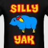 Silly Yak Celiac Disease Gluten Free - Men's T-Shirt