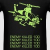 Attack Helicopter - Men's T-Shirt