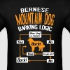 Bernese Mountain Dog Barking Logic T-Shirt - Men's T-Shirt