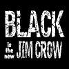 Black is the new Jim Crow - Men's T-Shirt