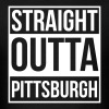 Straight Outta Pittsburgh Men's T-Shirt - Men's T-Shirt