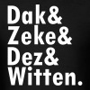 Dak & Zeke and Dez & Witten - Men's T-Shirt