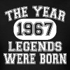 50th Birthday 1967 The Year Of Legends - Men's T-Shirt