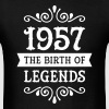 1957 - The Birth Of Legends - Men's T-Shirt