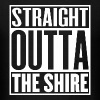 Straight Outta The Shire - Men's T-Shirt