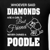 Never Owned A Poodle - Men's T-Shirt